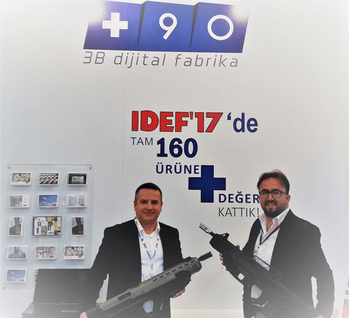 90 3B Dijital Fabrika'dan, KOSGEB Destekli Tüfek Projesine Destek!